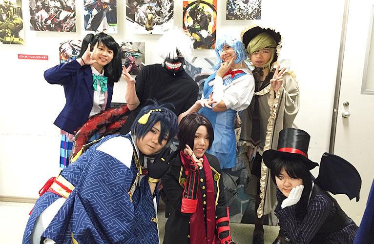 Yokohama Design College Students